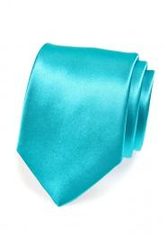 Férfi nyakkendő, 741 türkiz