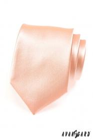 Férfi klasszikus nyakkendő lazac színe