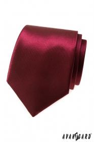 Férfi fényes bordó nyakkendő