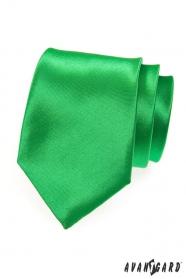 Fényes zöld férfi nyakkendő