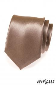 Fényes barna nyakkendő