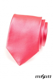 Sötétebb rózsaszín férfi nyakkendő