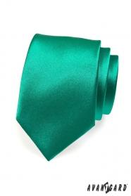 Zöld smaragdszínű nyakkendő