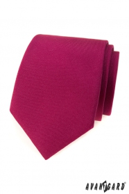 Matt bordó színű nyakkendő