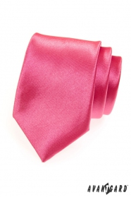 Férfi nyakkendő, sötét rózsaszín