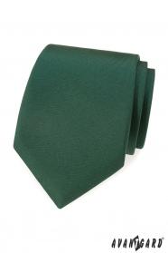 Sötétzöld matt nyakkendő