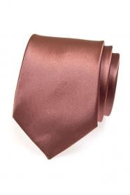 Egyszínű nyakkendő - barna