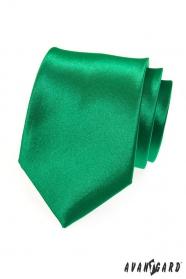 Egyszínű, zöld nyakkendő