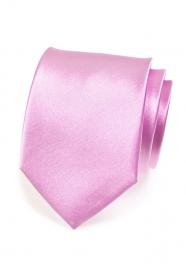 Egyszínű, fényes Lila nyakkendő
