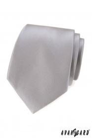 Szürke klasszikus férfi nyakkendő