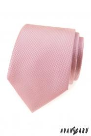 Por rózsaszín mintás nyakkendő