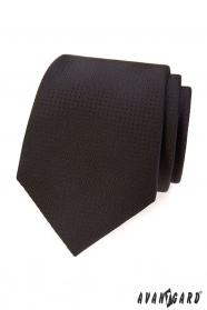 Barna nyakkendő, pontozott szerkezettel