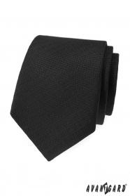 Fekete strukturált Avantgard nyakkendő