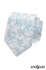 Férfi nyakkendő kék téma