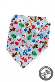 Karácsonyi pamut nyakkendő