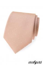 Por rózsaszín nyakkendő pöttyökkel