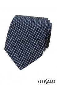 Kék pöttyös nyakkendő