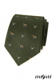 Zöld nyakkendő vadászok számára