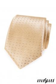 Arany nyakkendő pöttyökkel