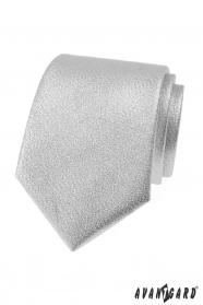 Metál fényes ezüst nyakkendő