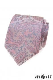 Porszürke Paisley nyakkendő