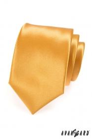 Férfi nyakkendő arany színben