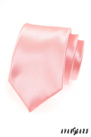 Rozsaszín luxusos nyakkendő