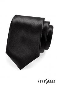 Klasszikus férfi fekete nyakkendő