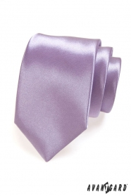 Sima lila nyakkendő