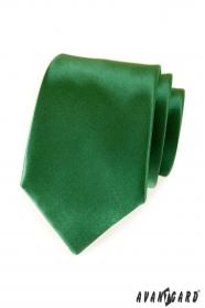 Zöld egyszínű avantgárd nyakkendő
