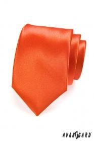 Narancs egyszínű nyakkendő