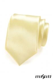 Sárga nyakkendő sima