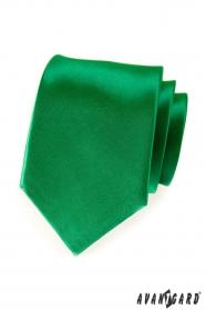 Egyszerű zöld férfi nyakkendő