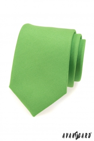 Zöld matt nyakkendő