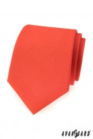 Matt sötét narancssárga nyakkendő