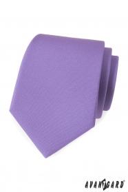 Világos lila matt nyakkendő