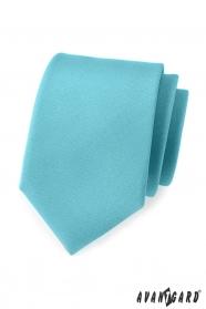 Matt türkiz férfi nyakkendő