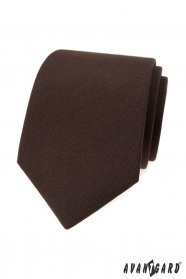 Férfi matt barna nyakkendő