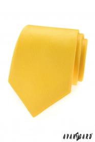 Sárga, matt Avantgard nyakkendő