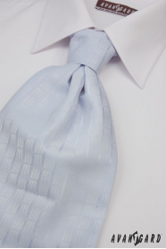 Esküvői nyakkendő világos kék finom dekoráció