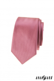 Sötét rózsaszín slim nyakkendő