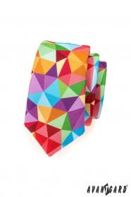 Színes nyakkendő SLIM