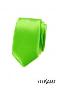 Keskeny zöld slim nyakkendő
