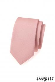 Slim nyakkendő divatos por szín