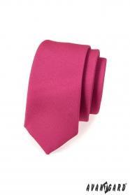 Slim nyakkendő fukszia