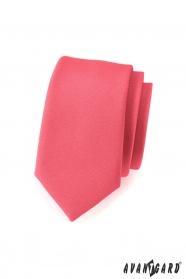 Karcsú nyakkendő korall színben
