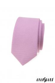Keskeny nyakkendő lila színű