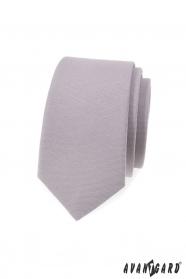 Szürke keskeny nyakkendő