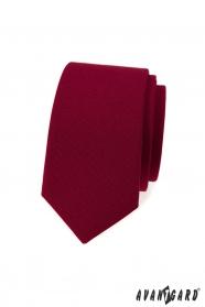 Slim bordó nyakkendő