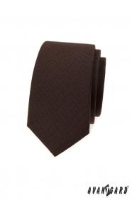 Barna keskeny nyakkendő